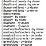 Businesses Selling on Craigslist
