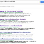 Get Your Craigslist Item Found in Google's Search Results
