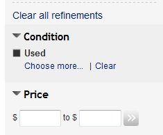 ebay used listings