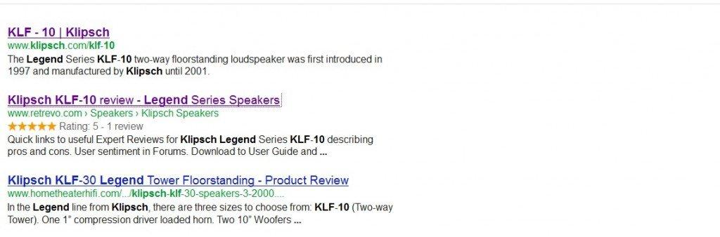 klipsch klf 10 google