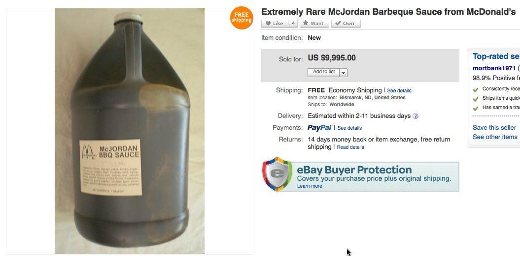 mcjordan ebay listing