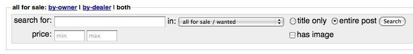 craigslist for sale