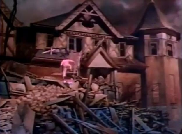 peanut-butter-solution-mansion-painting movie picture