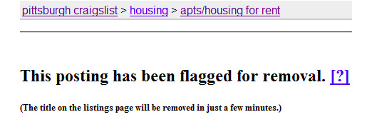 craigslist flag a post