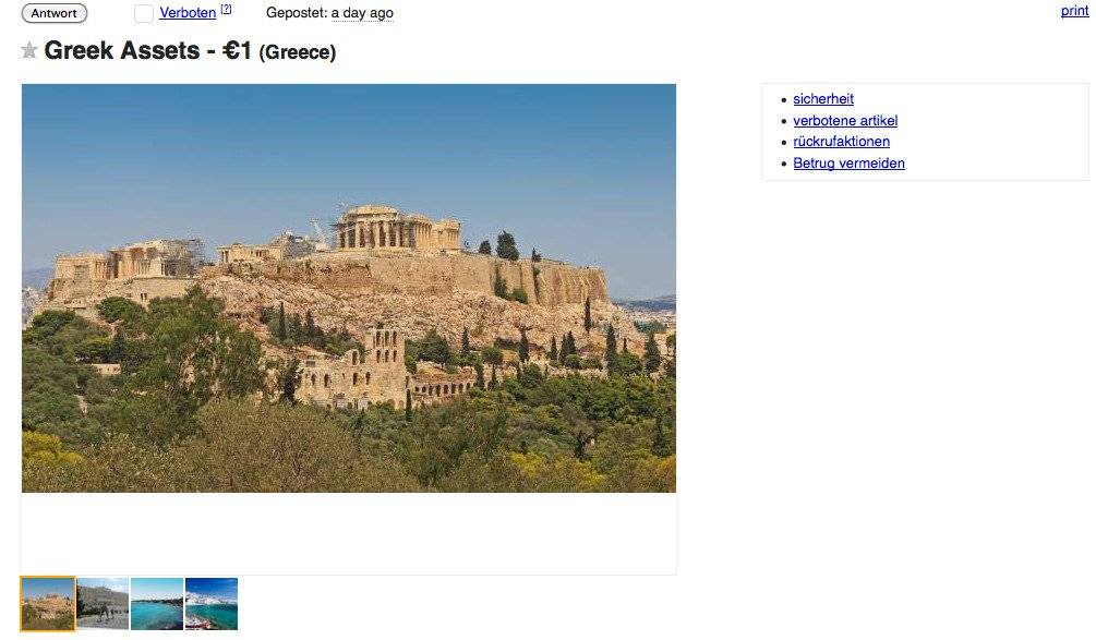 greece craigslist
