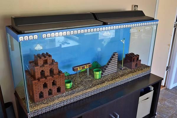 aquarium super mario bros