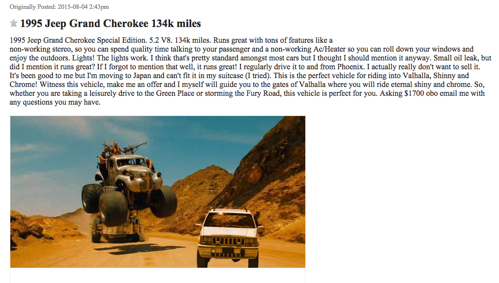 best-of-craigslist-1995-Jeep-Grand-Cherokee-134k-miles