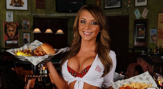 hot sexy bartender tilted kilt