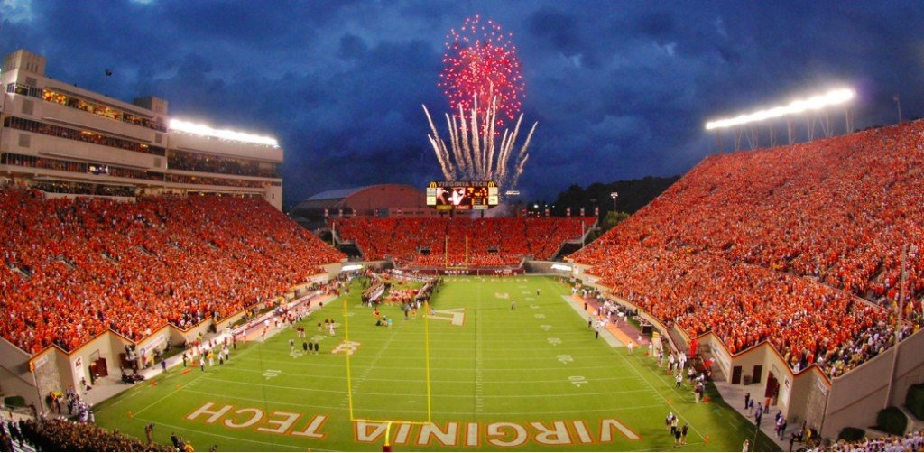 virginia tech football field