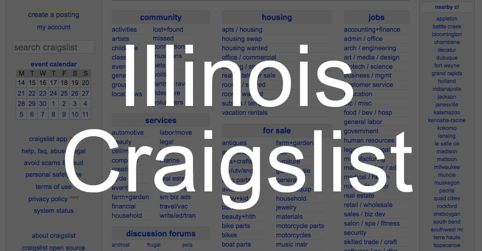 search all illinois craigslist