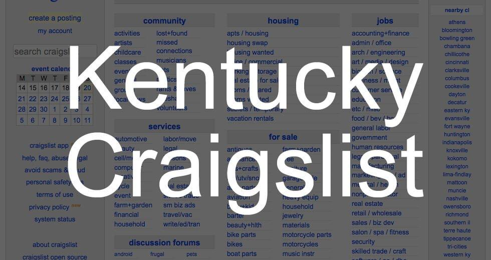 Craigslist Owensboro Kentucky