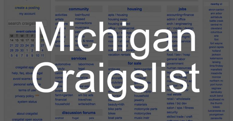How to Search All of Michigan State Craigslist