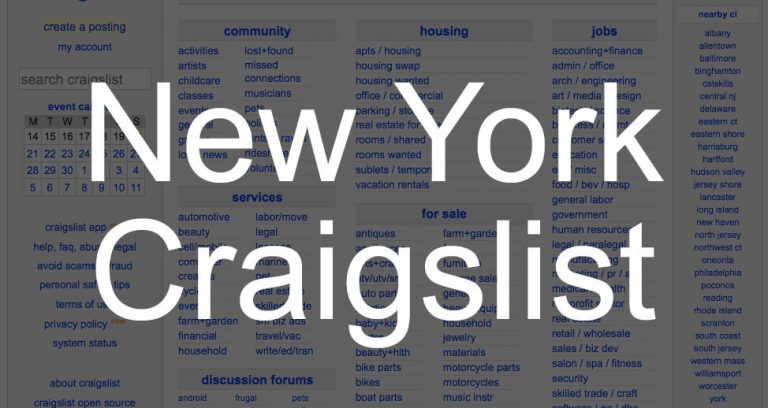 How to Search All of New York State Craigslist