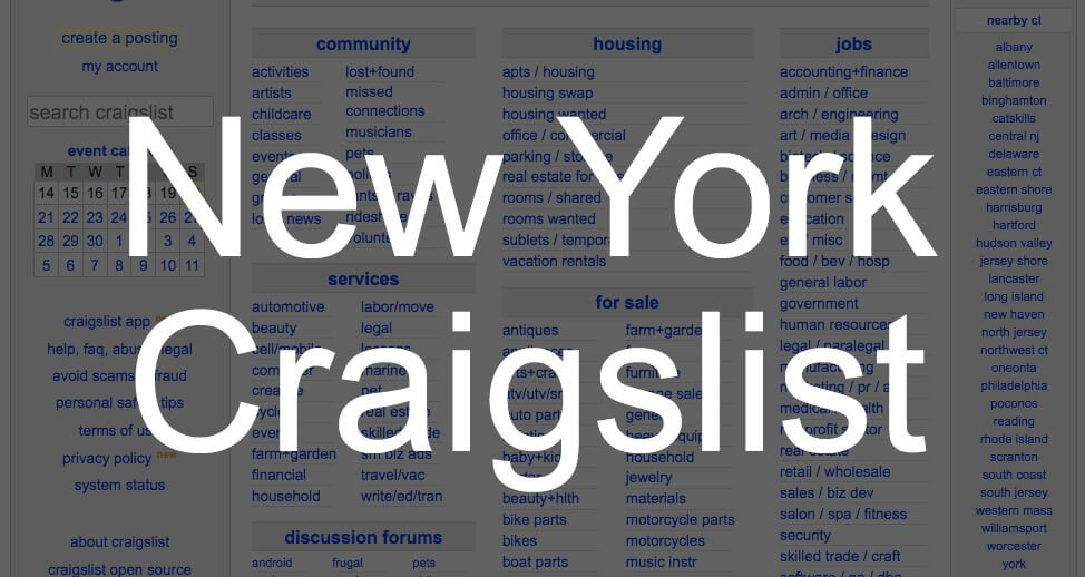 search all craigslist new york
