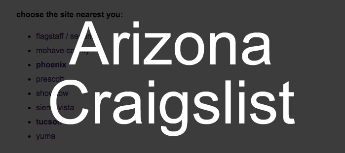 arizona craigslist