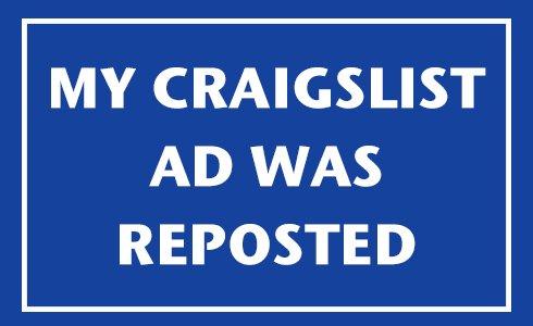 reposted craigslist ad
